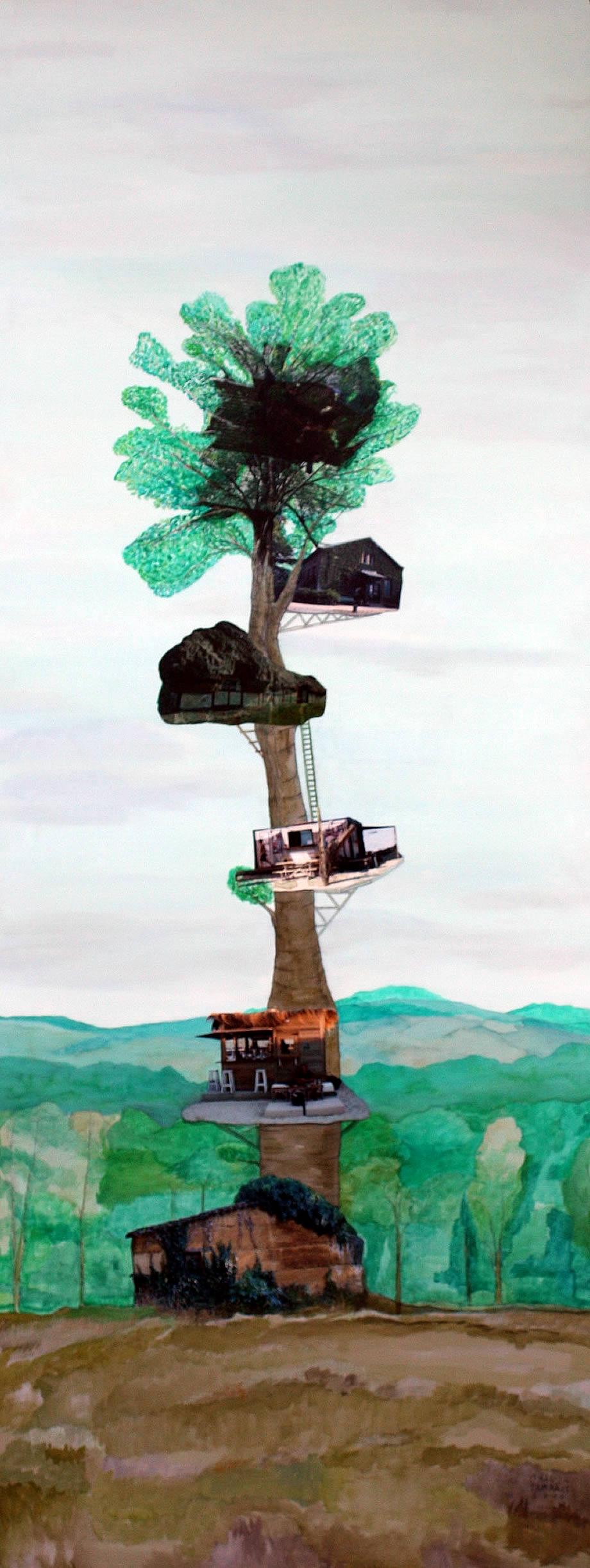 Árbol colonizado III