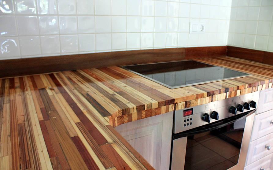 Cocina piel de árbol I