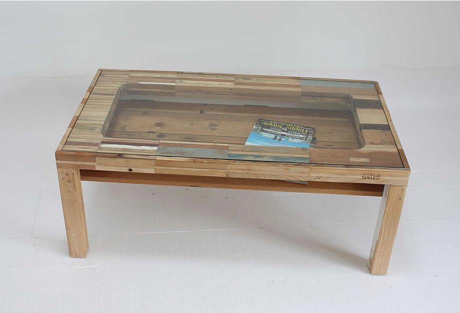 Mesa escritorio deconstruida
