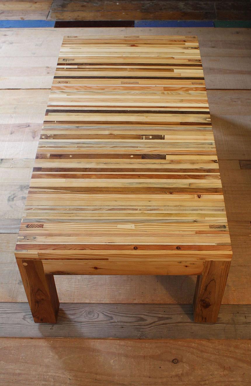 Mesa centro piel de árbol VI