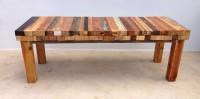 Mesa de centro piel de árbol VII