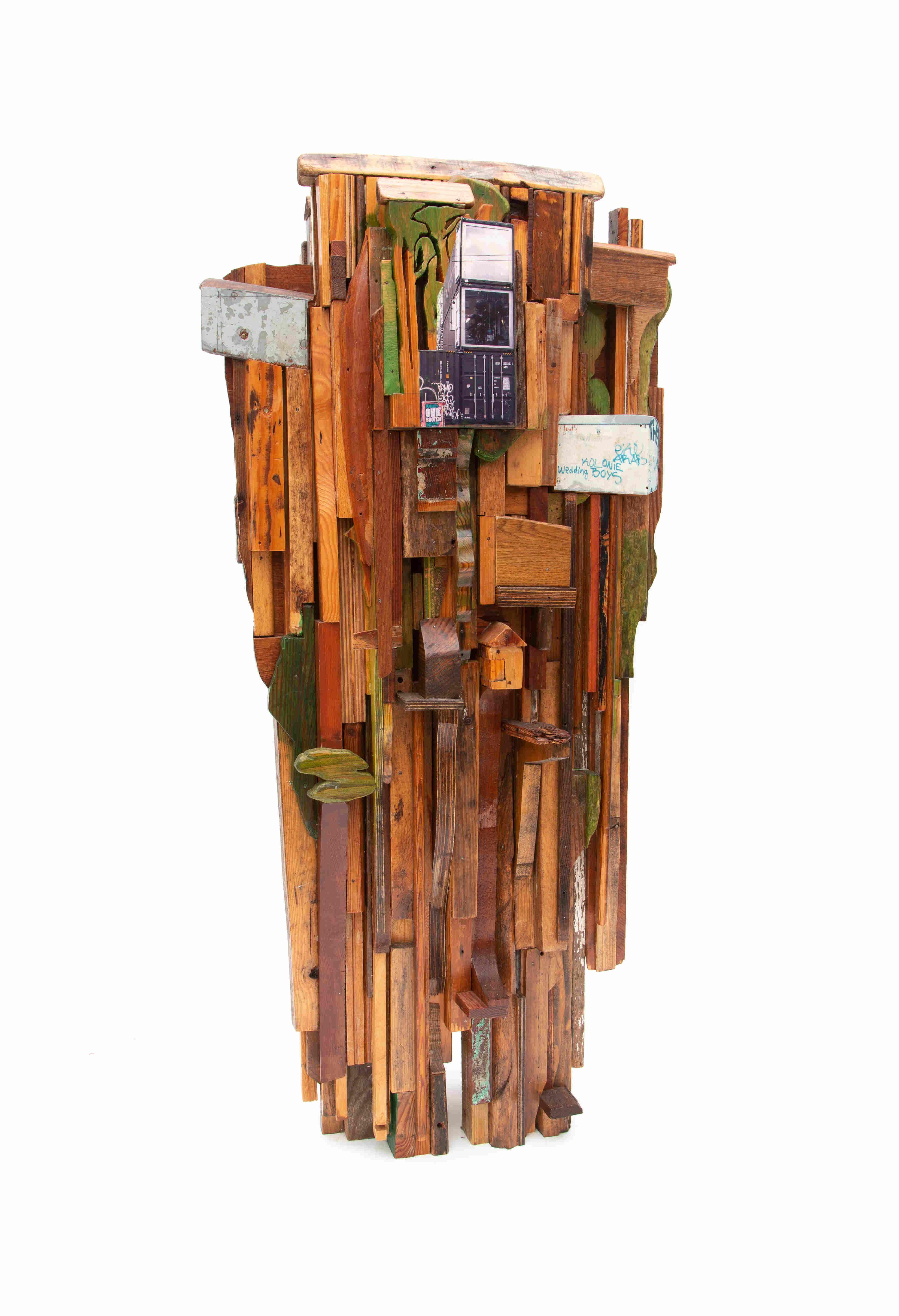Tree Colony IX side A web 2017